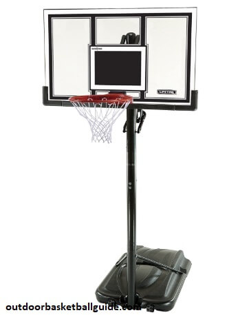 Lifetime Adjustable Basketball Hoop (54-Inch Polycarbonate)