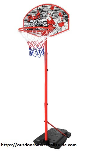 Kiddie Play Youth Basketball Hoop