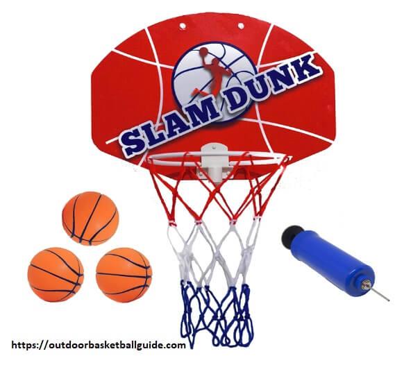Slam Dunk Mini Basketball Hoop Set