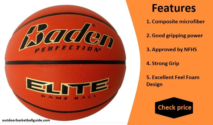 Baden Elite Indoor/Outdoor Game Basketball