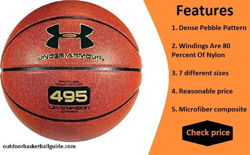 Under Armour 495 Indoor and Outdoor Basketball