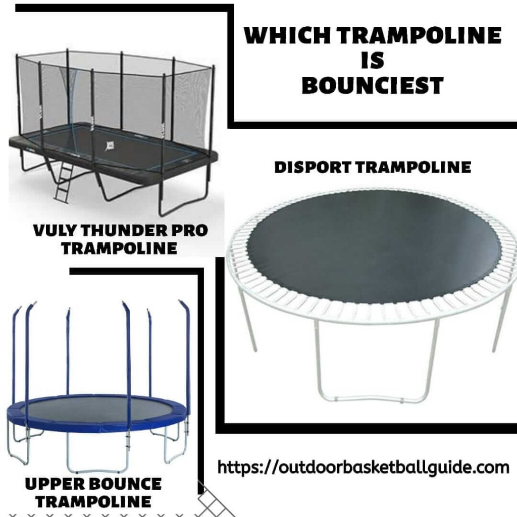 Which trampoline is the bounciest