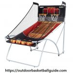 ESPN EZ Fold Indoor Basketball Game for 2 Players with LED Scoring