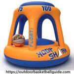 Hoop Shark Swimming Pool Basketball