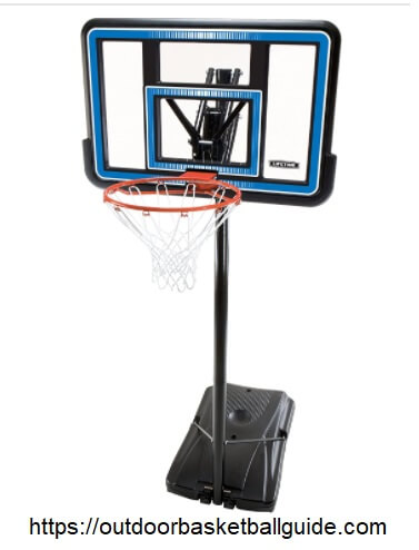 Lifetime 90023 Portable Backboard Basketball System
