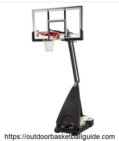 Spalding NBA Hybrid Portable Basketball System