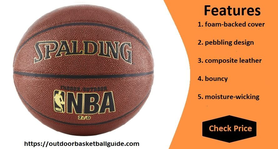 Spalding NBA Zio indoor outdoor basketball
