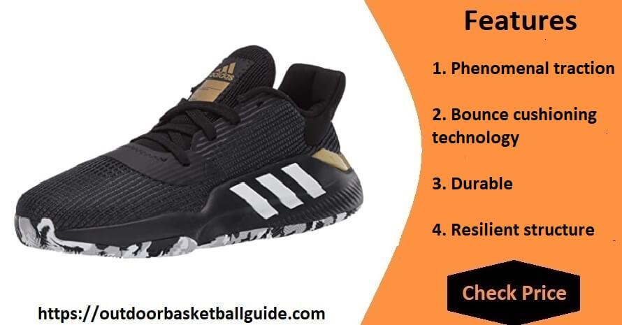 didas Men's Pro Bounce 2019 Low Basketball Shoe