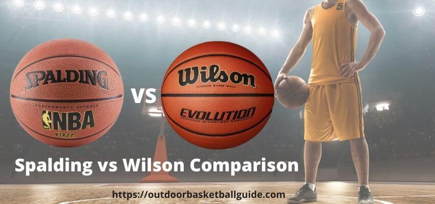 Spalding vs Wilson basketball